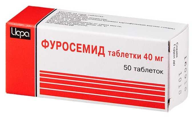 Мочегонные препараты улучшают отток мочи, препятствуя развитию отеков, прием препаратов сочетают с потреблением достаточного количества жидкости (Фуросемид и др.)