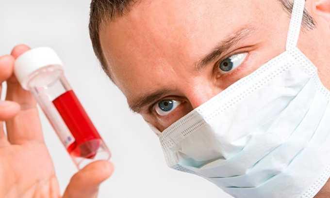 При длительной терапии нужно проводить периодически развернутый анализ крови