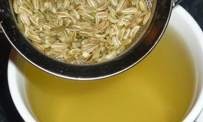 Для приготовления настоя берут 1,5 ч. л. неразмолотого семени и заливают его 1 л кипящей воды