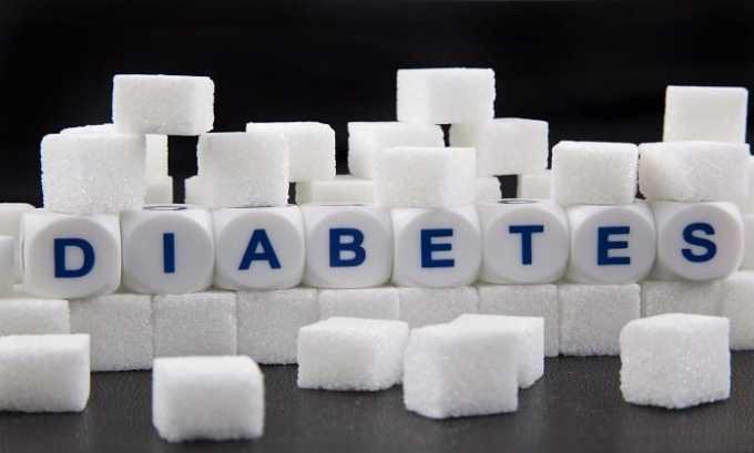 При сахарном диабете препарата следует принимать с осторожностью