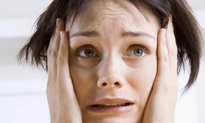Одно из побочных проявлений препарата появление тревоги