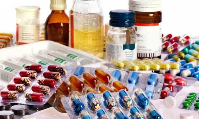 Лекарство нельзя использовать с другими антибиотиками