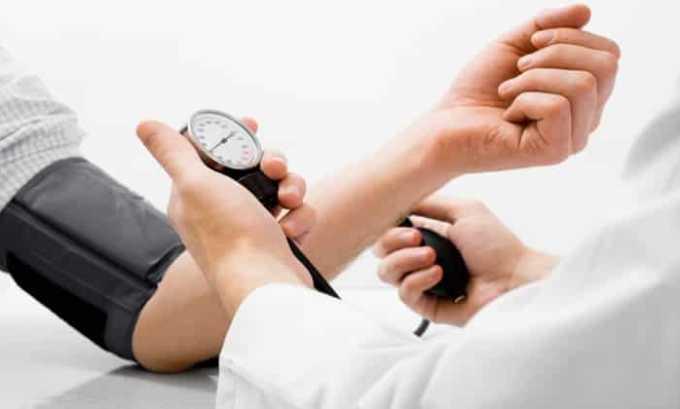 Лекарство противопоказано при артериальной гипотензии