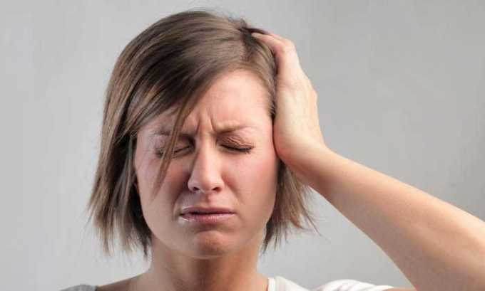 Препарат применяется при головной боли