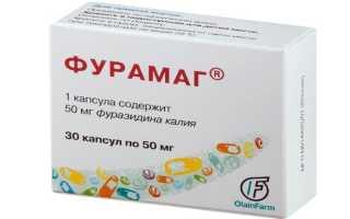 Фурамаг 50 — эффективное средство для лечения воспаления мочевыделительных путей