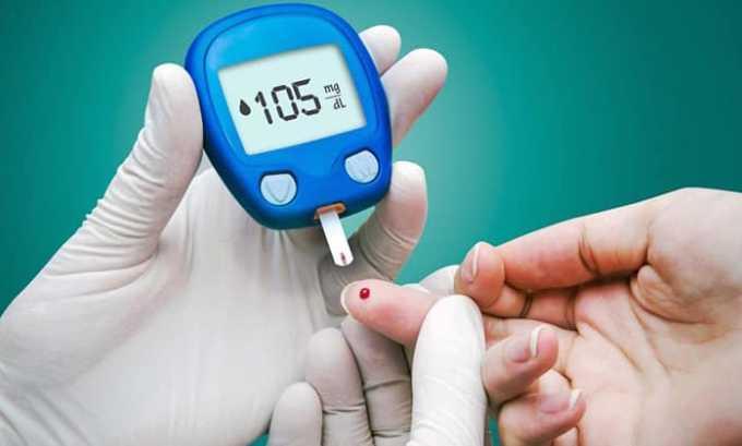 С осторожностью лекарство принимается при сахарном диабете