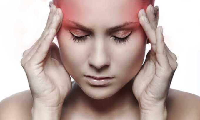 У пациента, применяющего мазь Диклофенак возможно появление головных болей
