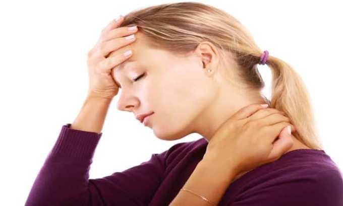 Побочные симптомы возникают редко и проявляются в основном в виде головной боли