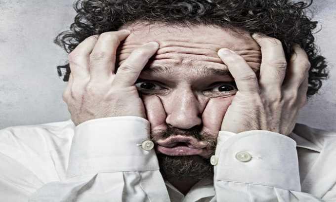 Прием препарата может приводить к психическим расстройствам