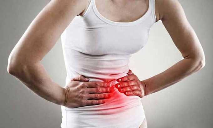 При превышении рекомендуемой дозы Норфлоксацина возникает боль в желудке