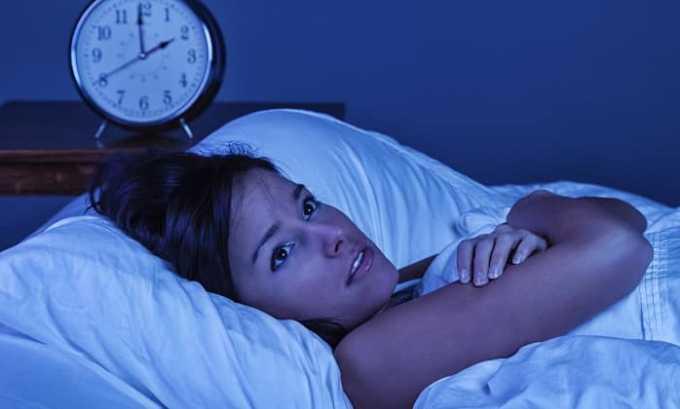 Вследствие проводимой антибиотикотерапии могут развиваться нарушения сна