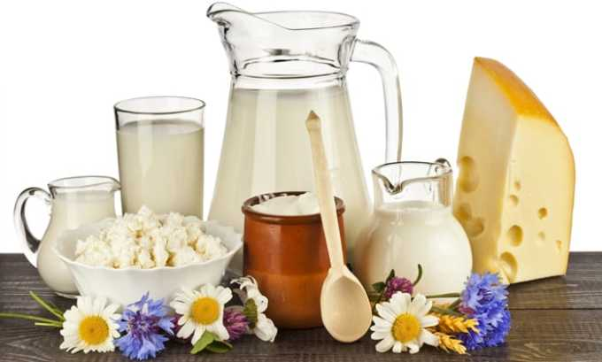 Большое количество аминокислоты содержится в молоке и молочных продуктах