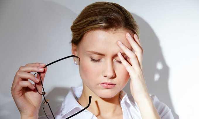 Также прием препарата может вызывать головные боли