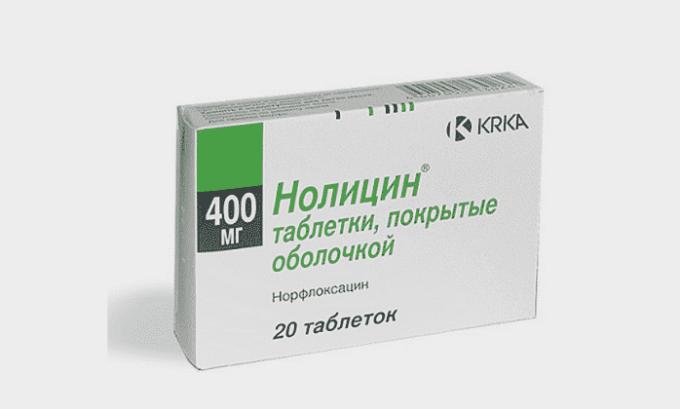 Для самостоятельного приема при обострениях хронического заболевания подойдет препарат Нолицин