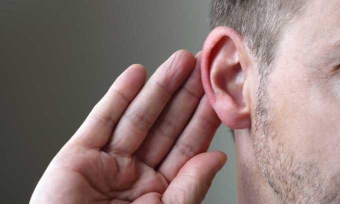 Если не правильно рассчитать дозу препарата у пациента может ухудшится слух