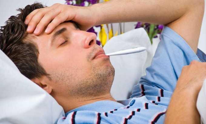 При запущенной форме цистита у больного начинается общая интоксикация организма, которая сопровождается повышением температуры, тошнотой и рвотой