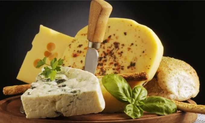 Аминокислота содержится в брынзе и сырах