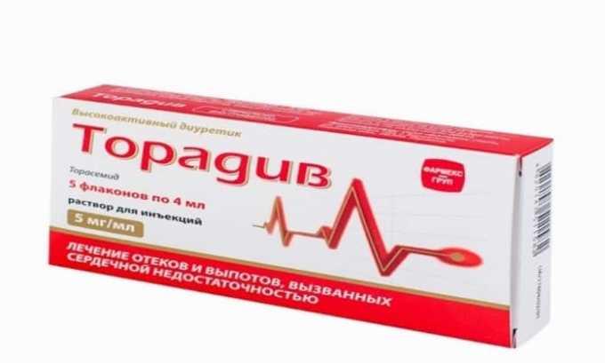 Аналог препарата Торадив