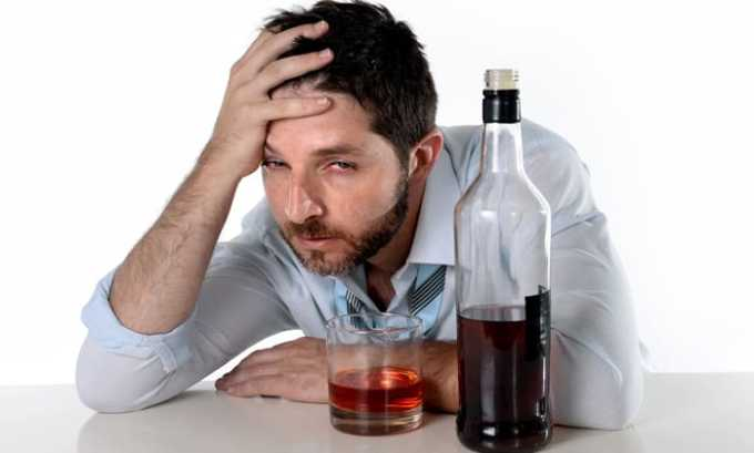 Препарат Глицин эффективен при хроническом алкоголизме