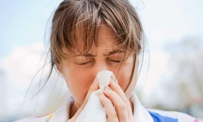 Арлет используют при остром и хроническом синусите