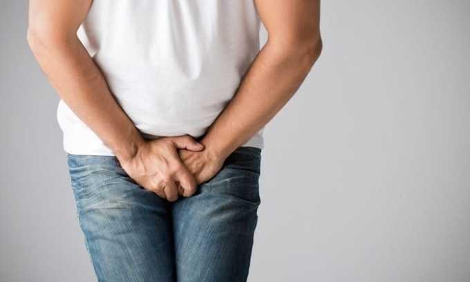 Интерстициальный цистит у мужчин проявляется болями в мошонке