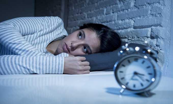 Среди побочных эффектов препарата числится бессонница