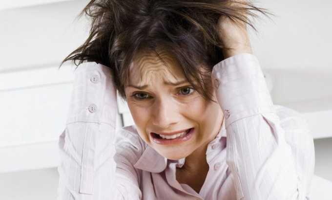 Могут возникнуть отрицательные реакции в виде раздрожительности