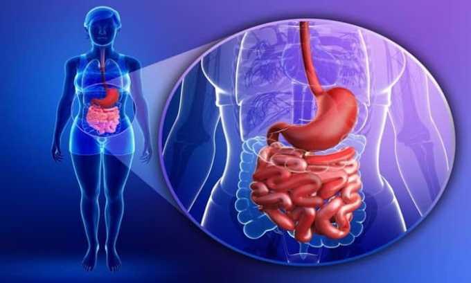 Побочным эффектом от препарата может быть нарушение пищеварительной системы