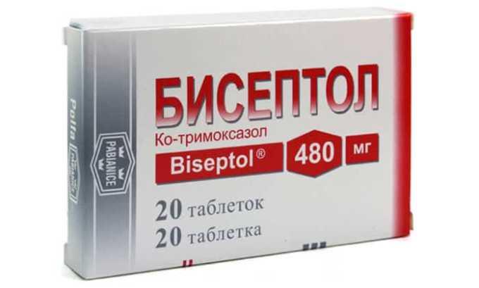Поможет устранить патологию Бисептол