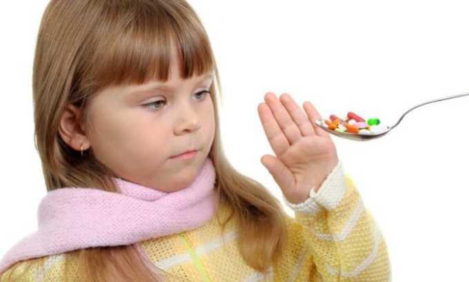 Спазмолитик запрещен детям до 6 лет