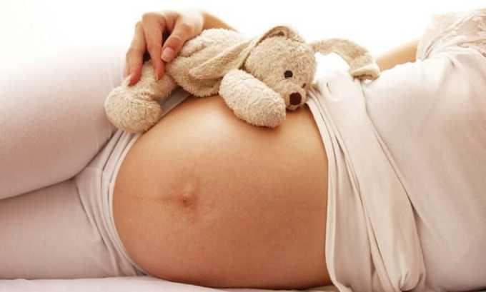 Лекарственное средство нельзя принимать в период вынашивания ребенка