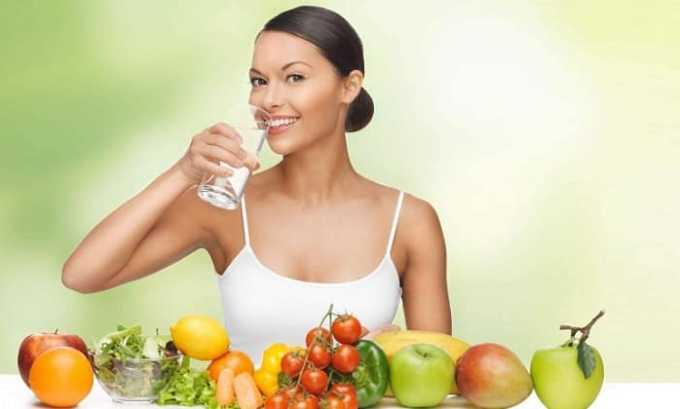 Для профилактики цистита необходимо правильно питаться и соблюдать питьевой режим