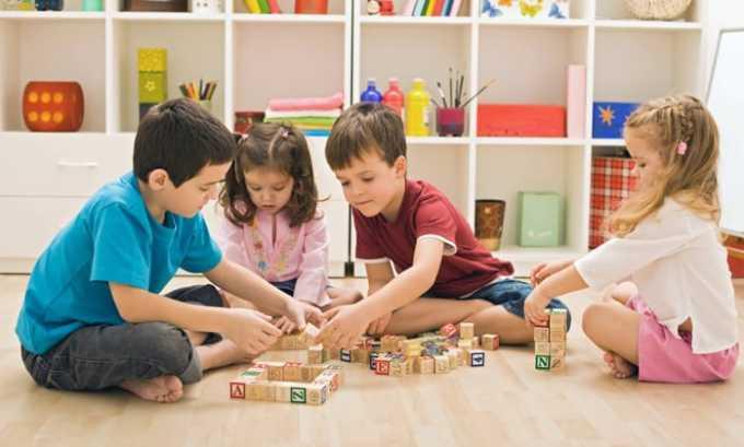 Применение для лечения детей возможно при отсутствии у них противопоказаний