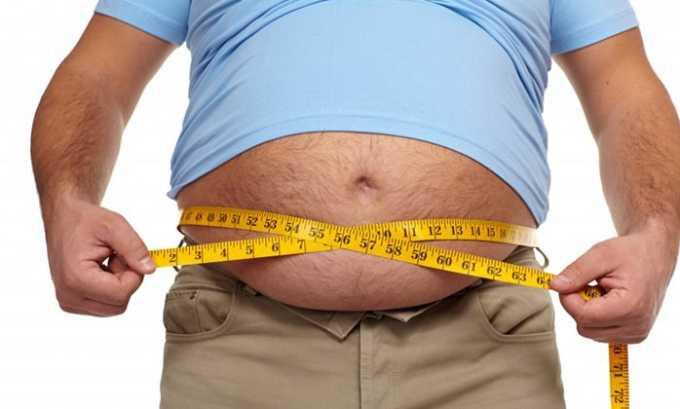 Избыточный вес может стать причиной дриблинга