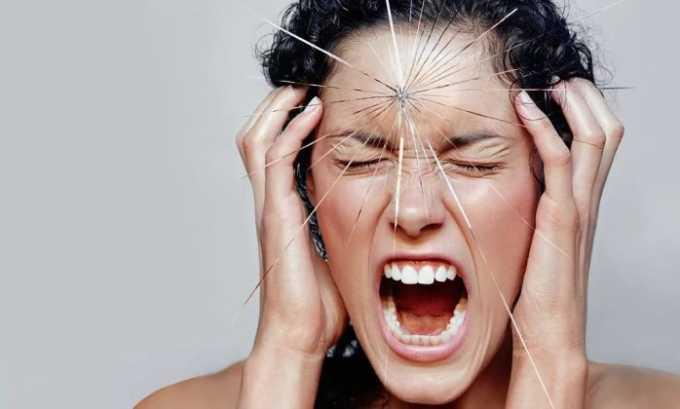 При передозировке Нимедаром появляется головная боль