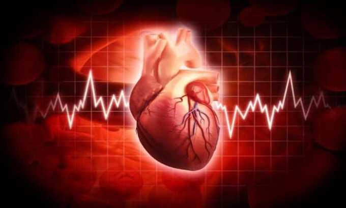 В инструкции прописано, что лекарственное средство запрещается принимать при выраженном нарушении работы сердца