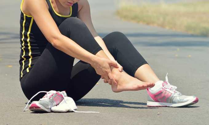 При поражение сухожилий не рекомендовано принимать медикамент Офлоксацин