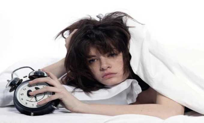 В нескорых случаях возможные такие побочные эффекты как нарушение сна