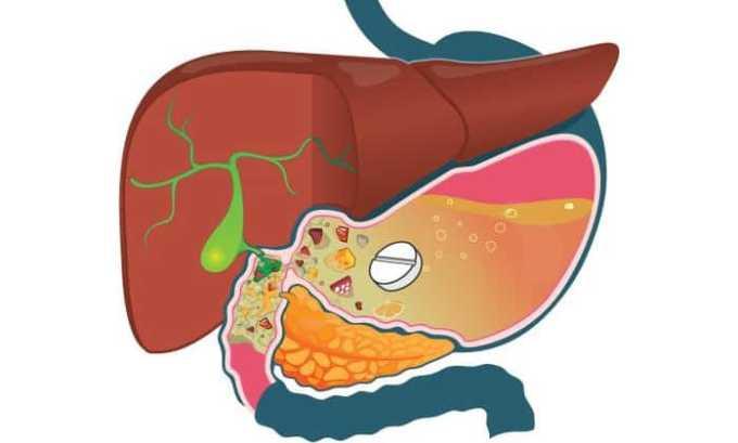Всасывание ибупрофена происходит из органов желудочно-кишечного тракта