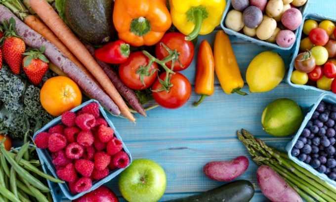 Полдник при диете: легкие фрукты или овощи