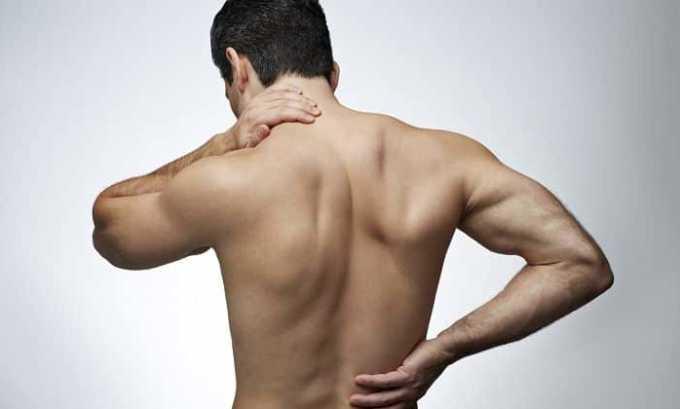 НПВП может назначаться в качестве симптоматической терапии при боли в мышцах