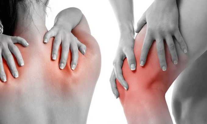 Препарат применяется при боли в мышцах