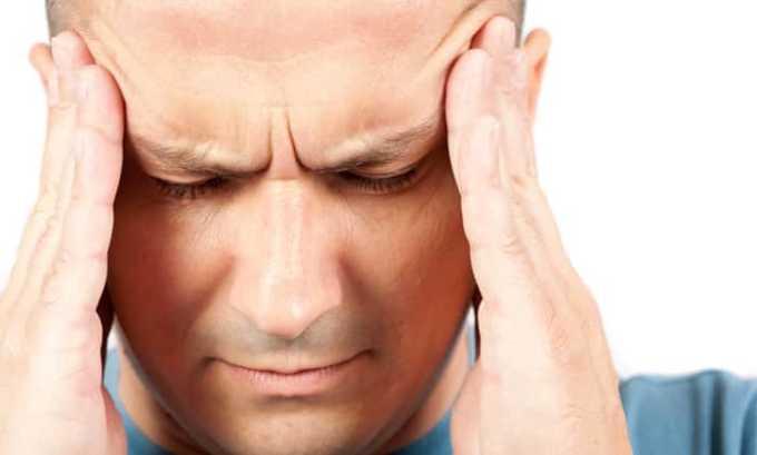 Одно из побочных действий препарата головная боль