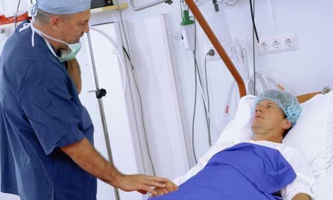 Препарат назначают при болевом синдроме, возникающем после хирургических вмешательств