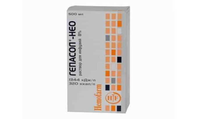 Аминокислота содержится в препарате Гепасол Нео