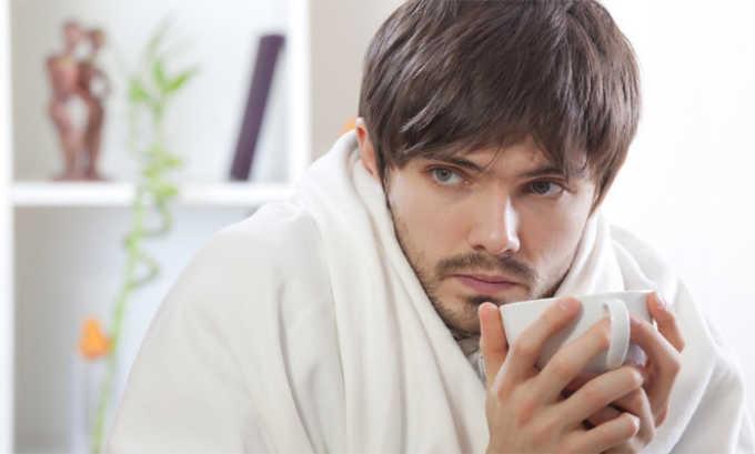 Препарат может вызвать лихорадку