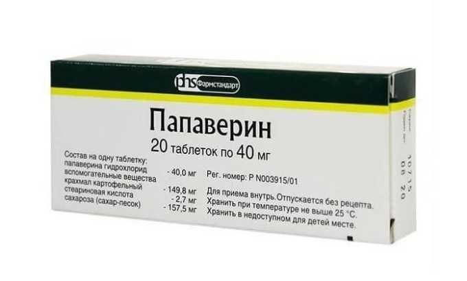 Аналогом препарата Но-Шпа форте является Папаверин