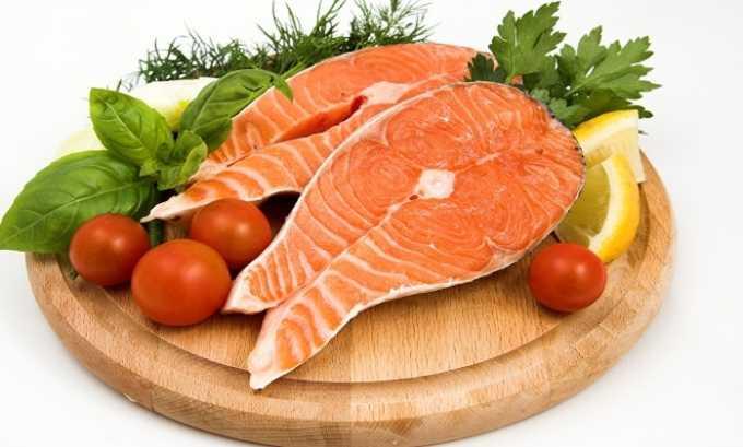 Аминокислота содержится в морских сортах рыбы