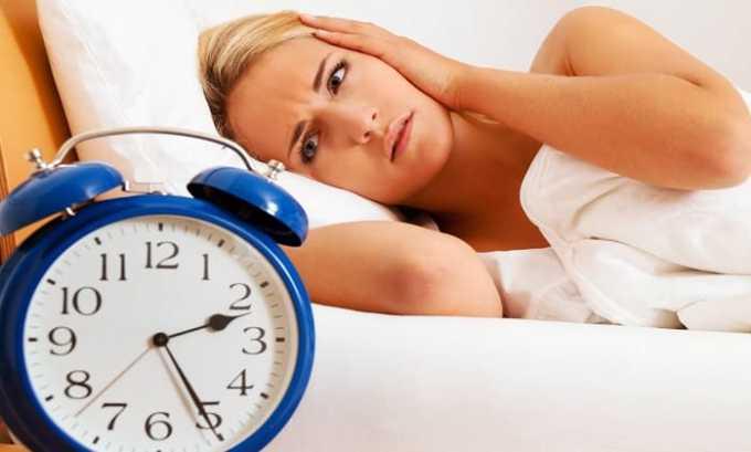 Препарат применяю при нарушении сна