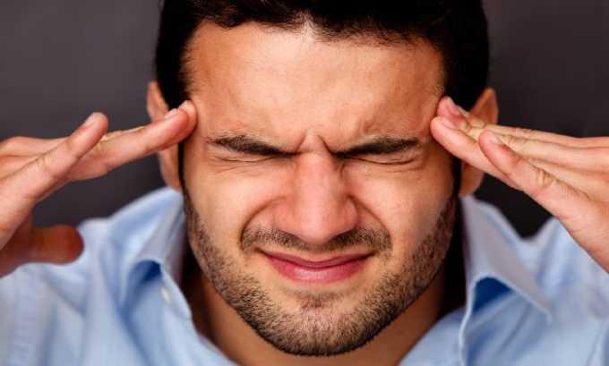 Головная боль - один из возможных побочных эффектов после приема препарата